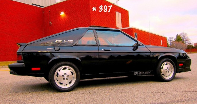 The Other GLHS: 1987 Shelby Charger