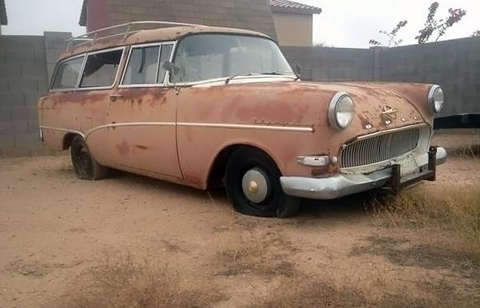 Crusty Cool Caravan: 1958 Opel Olympia Caravan
