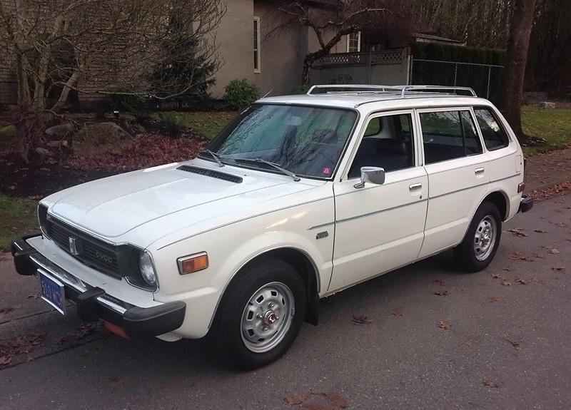 033016 Barn Finds 1978 Honda Wagon 1