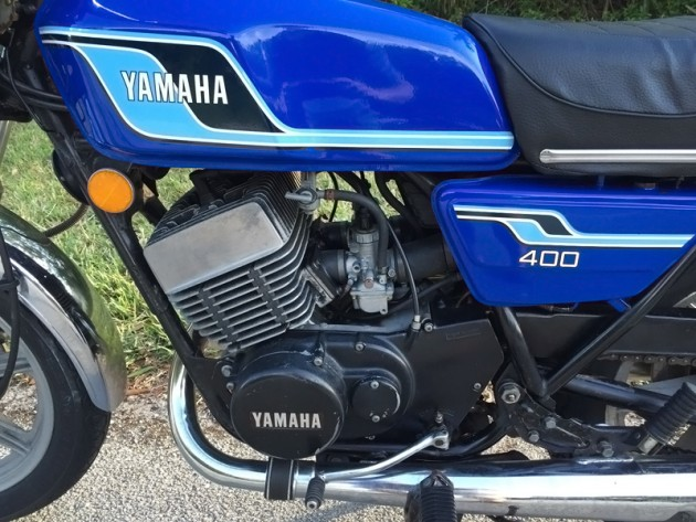 040316 Barn Finds- 1977 Yamaha RD400 - 4