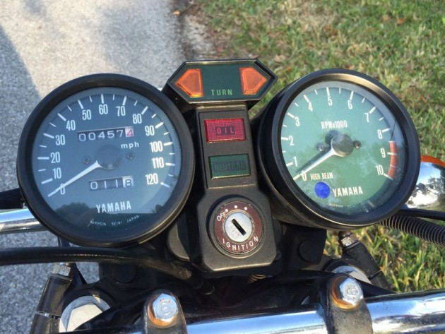 040316 Barn Finds- 1977 Yamaha RD400 - 5