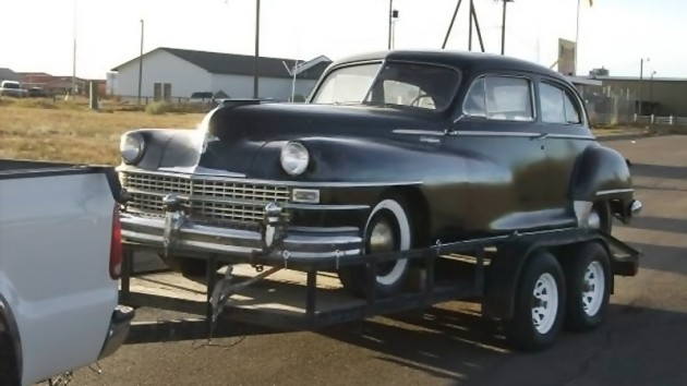 040516 Barn Finds - 1948 Chrysler - 1