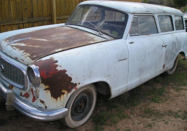 040516 Barn Finds - 1959 AMC Rambler American wagon - 1