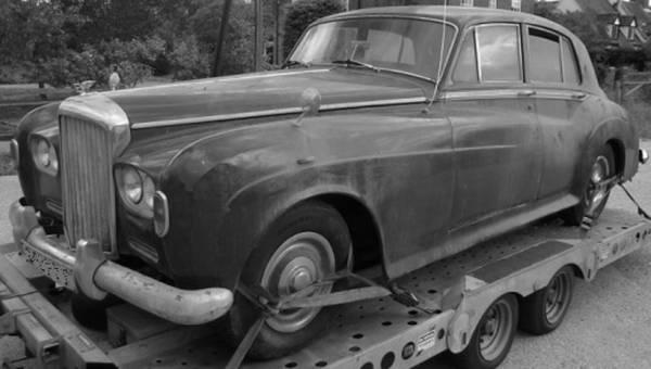 Barn Bentley: 1963 Bentley S3