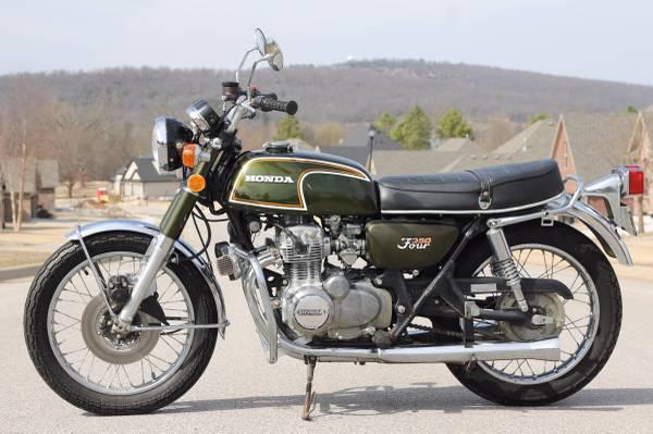 040516 Barn Finds - 1973 Honda CB350F - 1