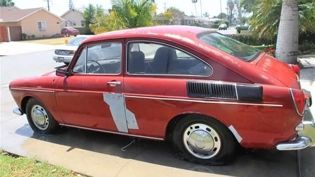 040616 Barn Finds - 1968 Volkswagen Fastback - 2