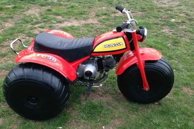 040616 Barn Finds - 1970 Honda ATC 90 - 1