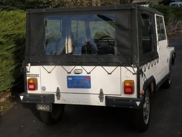 040816 Barn Finds - 1983 NAMCO Citroën Pony 2CV - 2