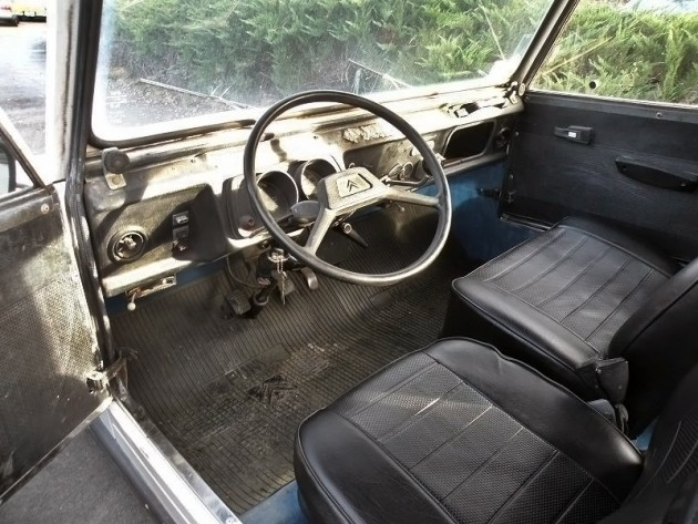 040816 Barn Finds - 1983 NAMCO Citroën Pony 2CV - 3