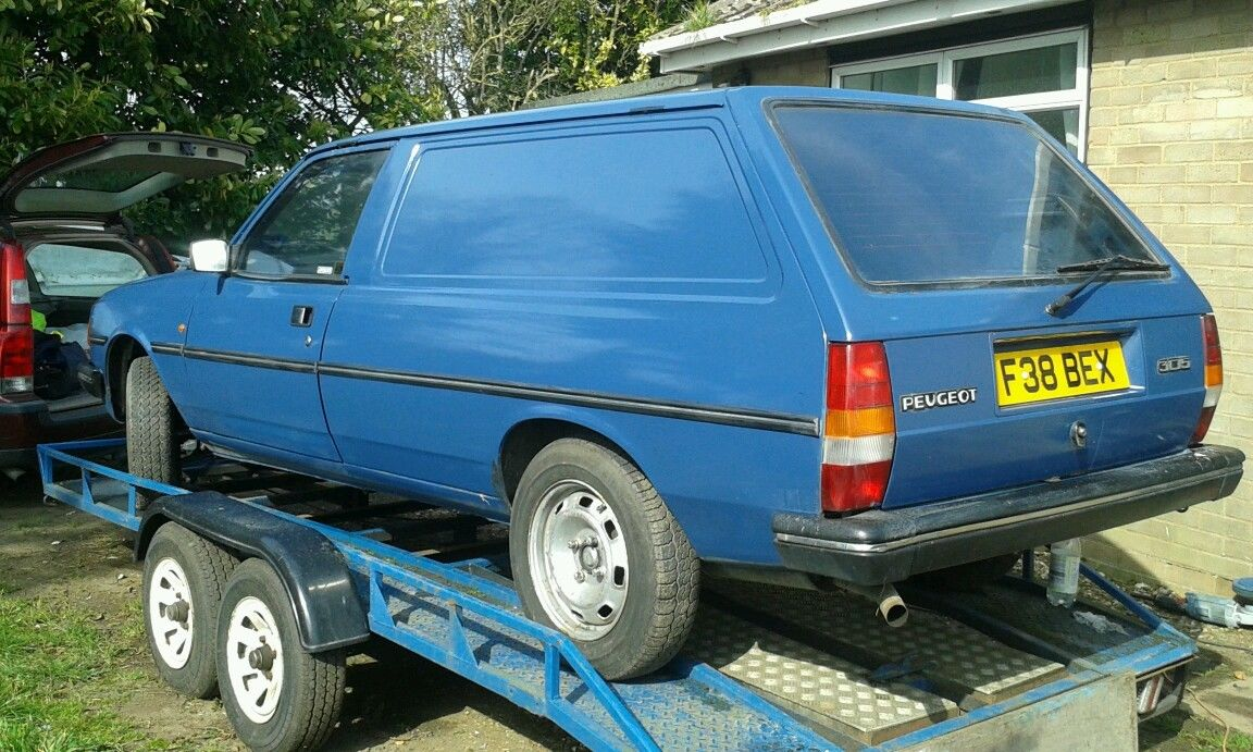 British Barn Find: Peugeot 305 Panel Van