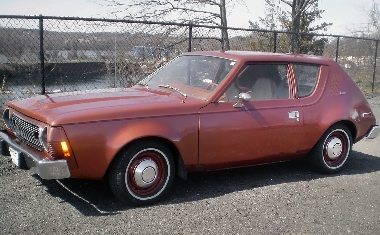 cool copper colored car 1974 amc gremlin. Black Bedroom Furniture Sets. Home Design Ideas
