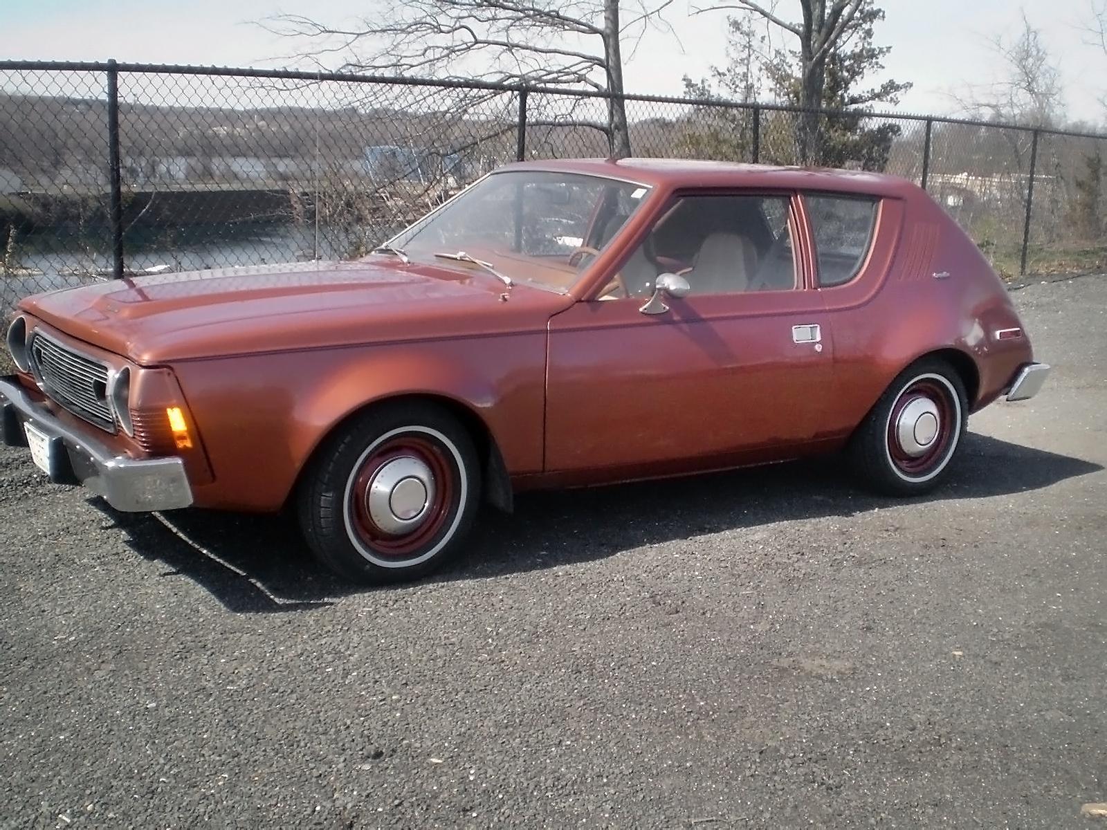 Cool Copper Colored Car: 1974 AMC Gremlin