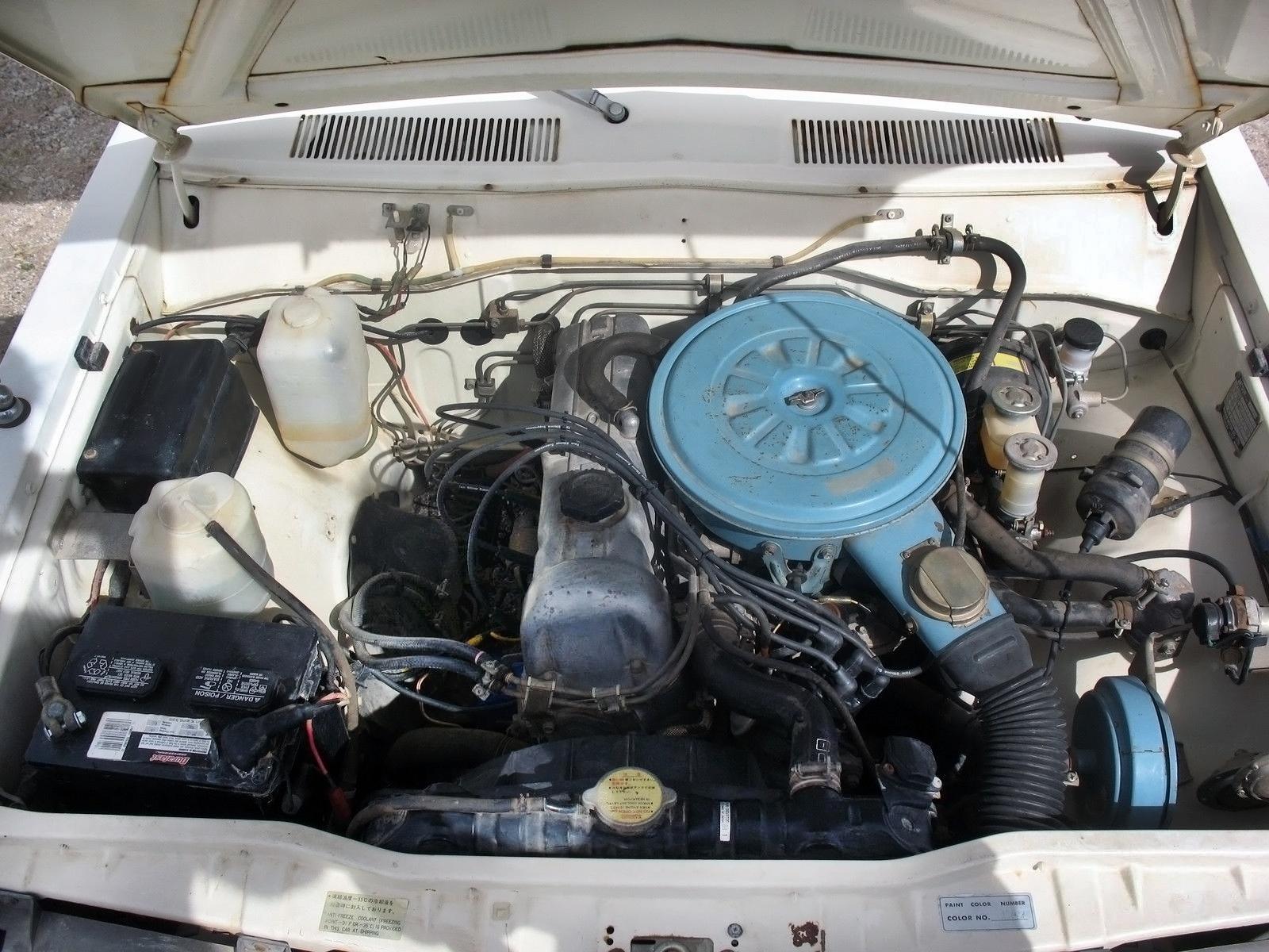 Faded Glory:1978 Datsun 620 Mini Motorhome