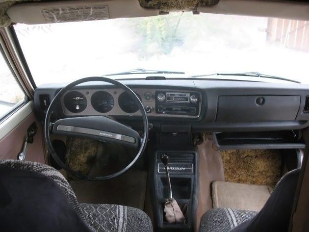 041216 Barn Finds - 1978 Datsun 620 Mini Motorhome - 5
