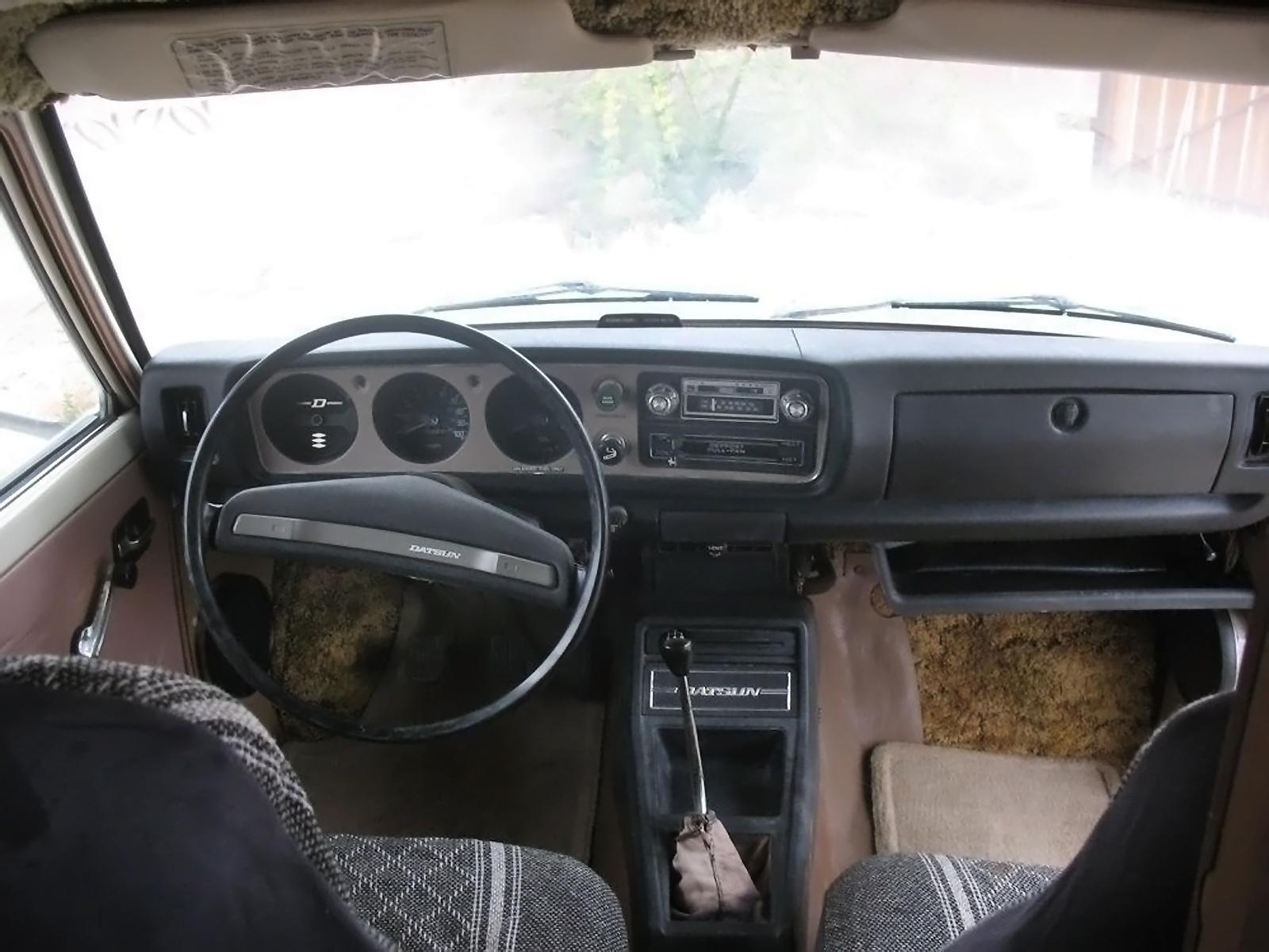 Faded Glory 1978 Datsun 620 Mini Motorhome