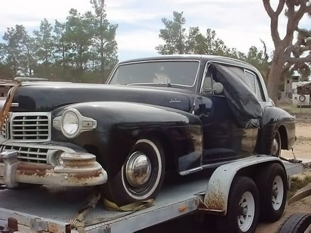 041316 Barn Finds - 1948 Lincoln Continental - 1