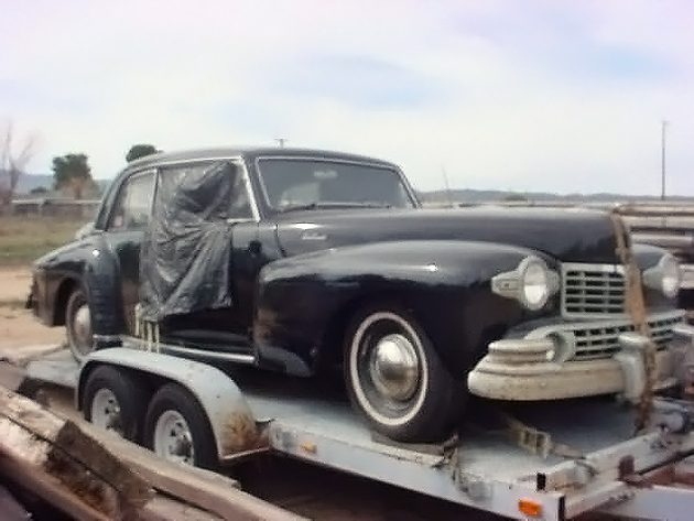041316 Barn Finds - 1948 Lincoln Continental - 2