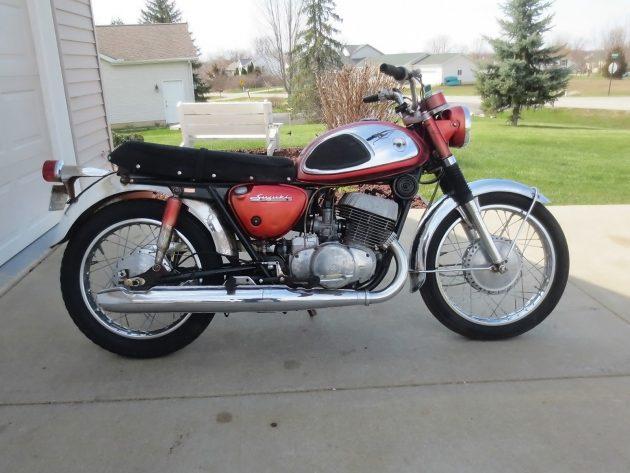 041416 Barn Finds - 1965 Suzuki T500 - 1