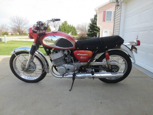 041416 Barn Finds - 1965 Suzuki T500 - 2