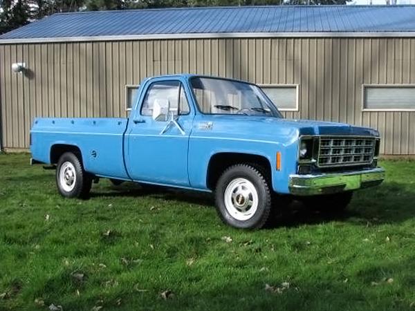 041416 Barn Finds - 1977 Chevrolet pickup - 2