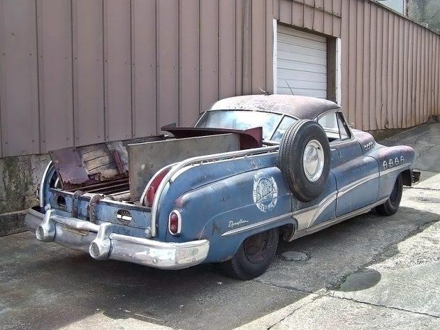 041516 Barn Finds - 1950 Buick Roadmaster Harley Earl Custom Wrecker - 3