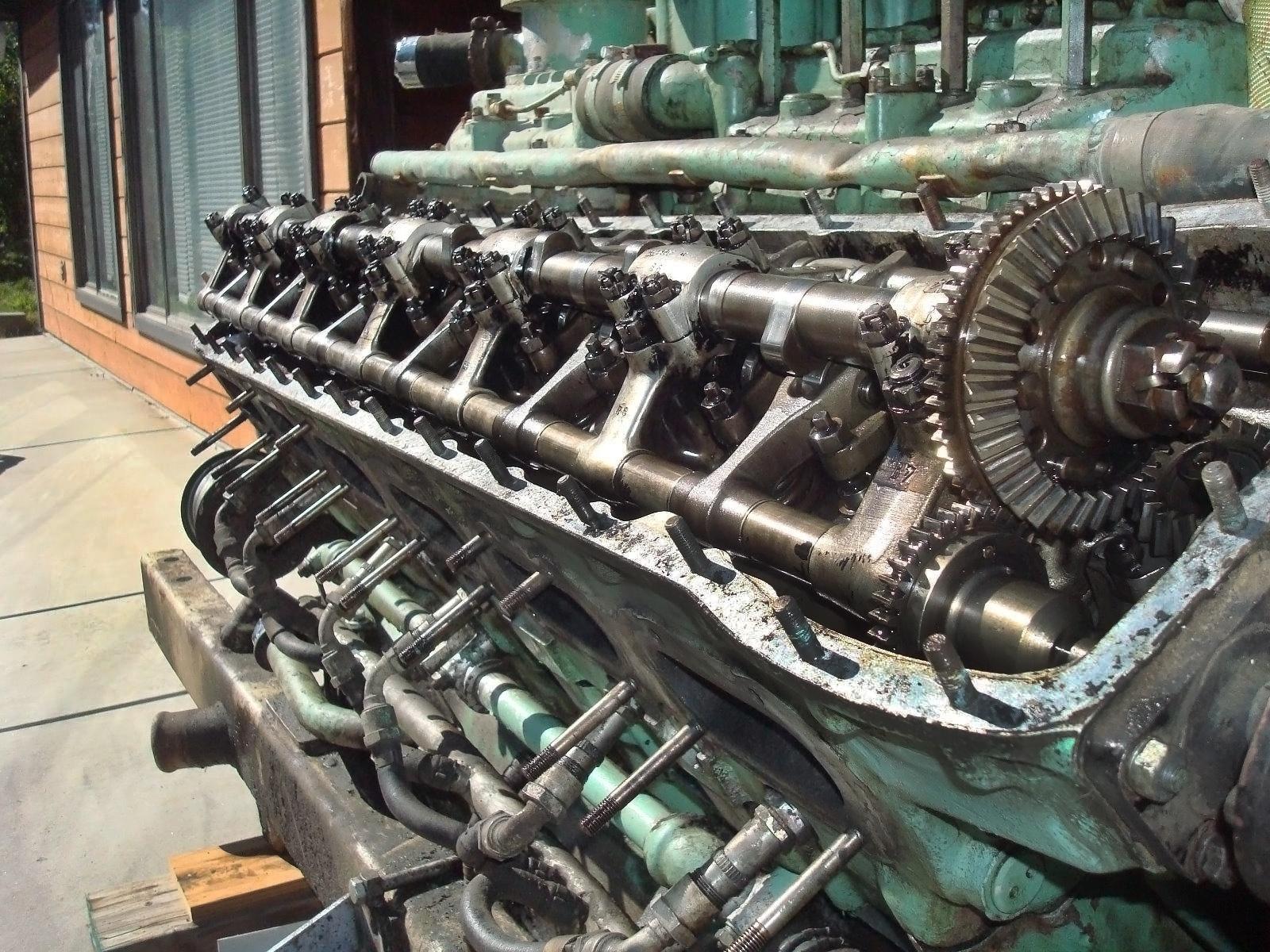 Swedish Army Tank Engine Rolls Royce Meteor V12