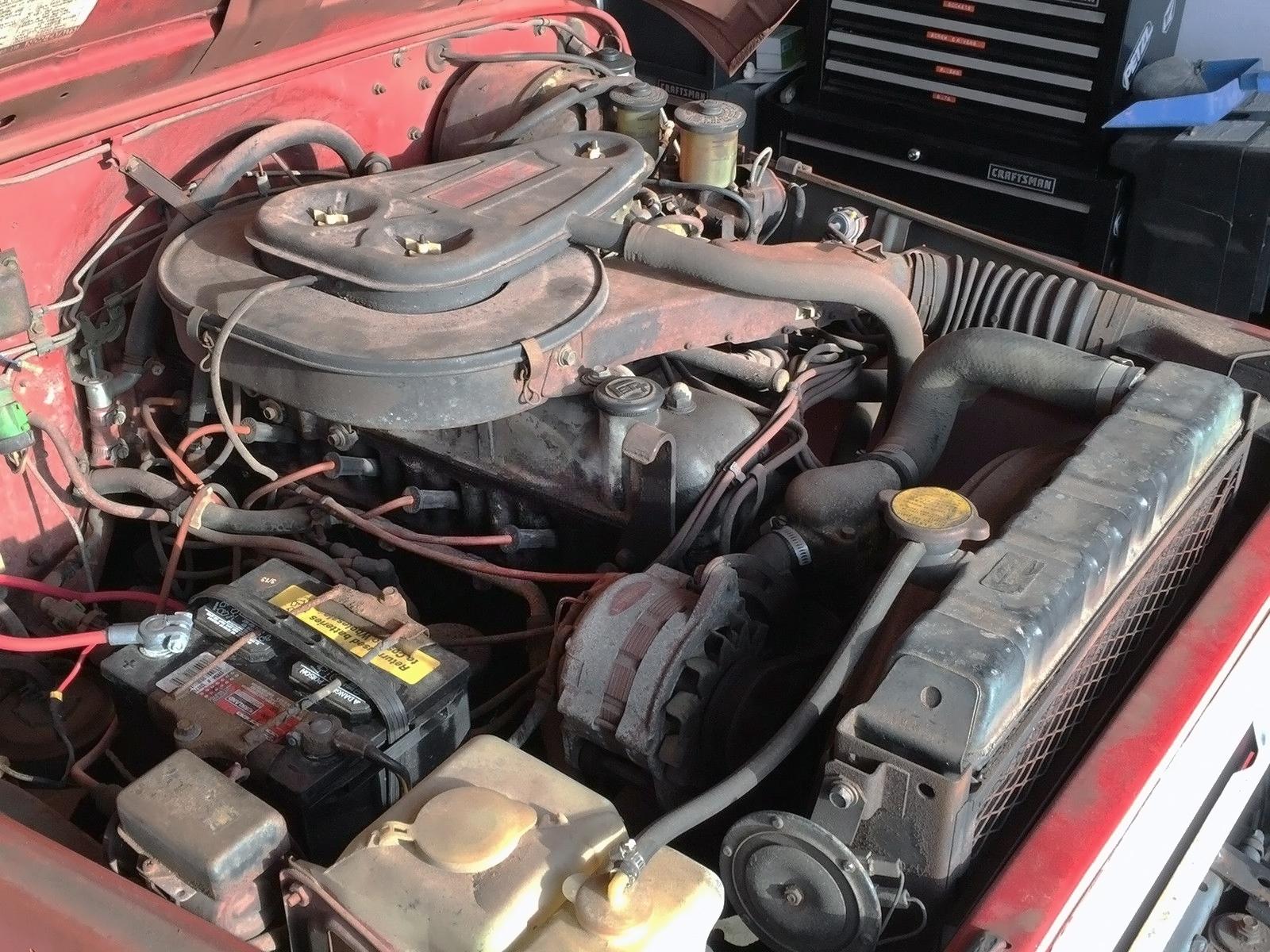 California Cruiser 1978 Toyota Land Fj40 Engine 041616 Barn Finds 4