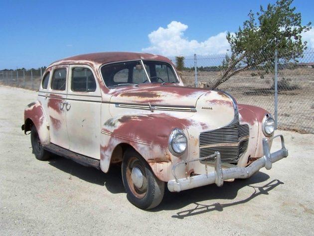 041716 Barn Finds - 1940 Dodge D14 Sedan - 1