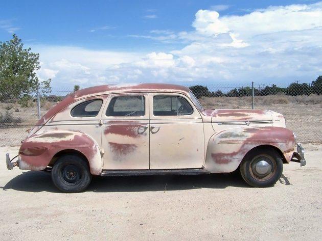 041716 Barn Finds - 1940 Dodge D14 Sedan - 2