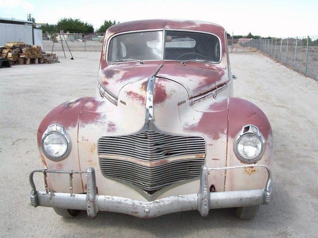 041716 Barn Finds - 1940 Dodge D14 Sedan - 5