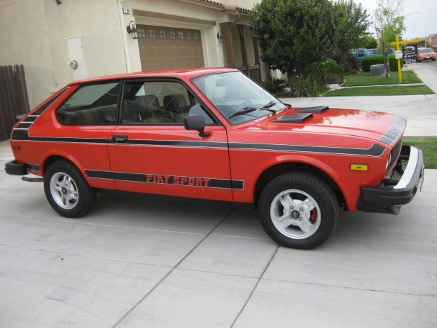 Non-Wallflower Fiat: 1978 Fiat 128 Sport 3P