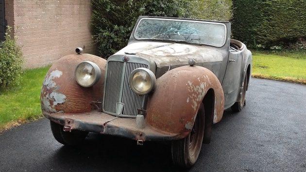 041816 Barn Finds - 1947 Triumph Roadster - 1