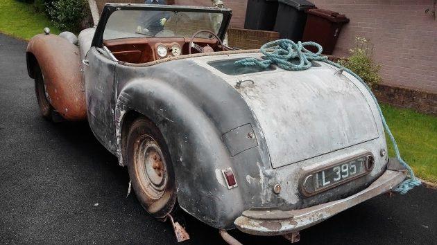 041816 Barn Finds - 1947 Triumph Roadster - 2