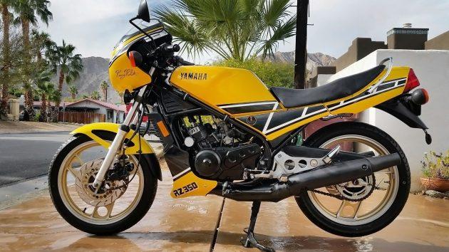 041816 Barn Finds - 1984 Yamaha RZ 350 - 1