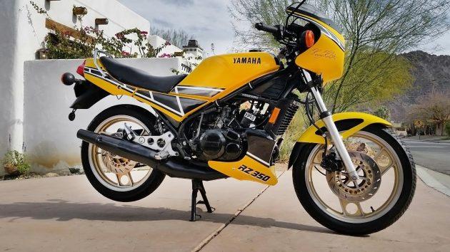 Screaming Yellow Zonker: 1984 Yamaha RZ 350
