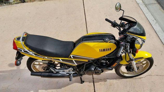 041816 Barn Finds - 1984 Yamaha RZ 350 - 3