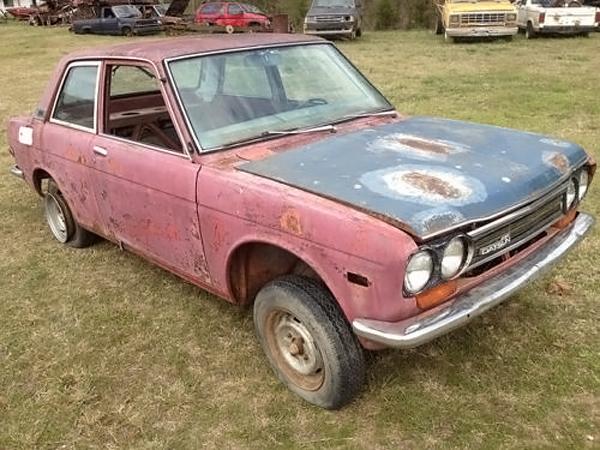 042216 Barn Finds - 1972 Datsun 510 - 2