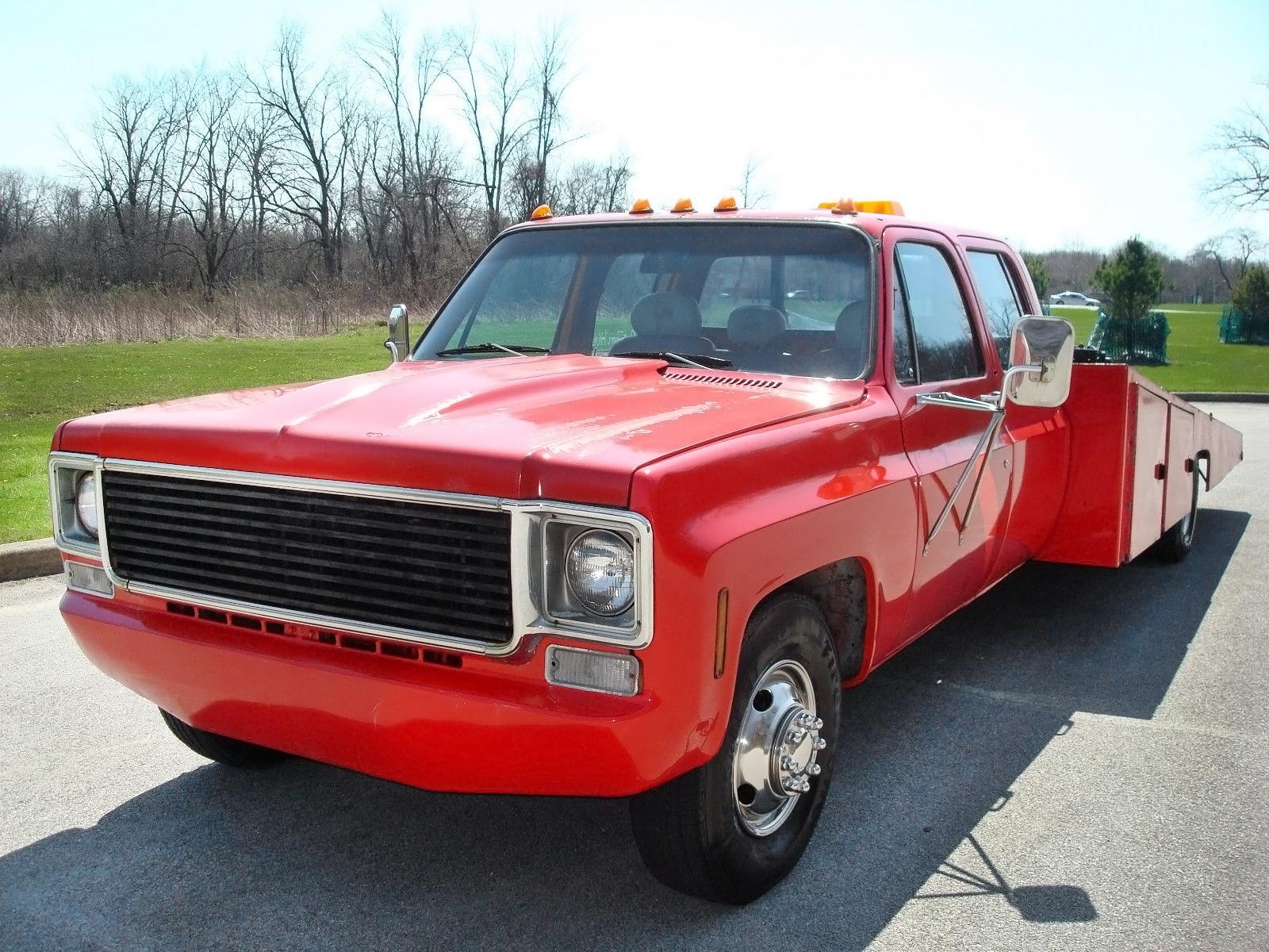 Long Hauler: 1978 Chevrolet C30 Car Hauler