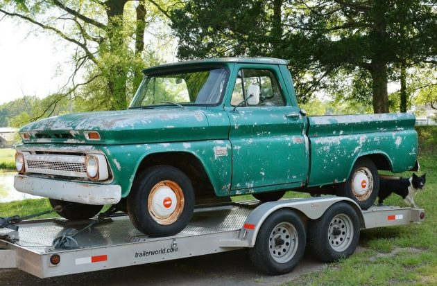 042416 Barn Finds - 1966 Chevrolet C10 Fleetside - 1
