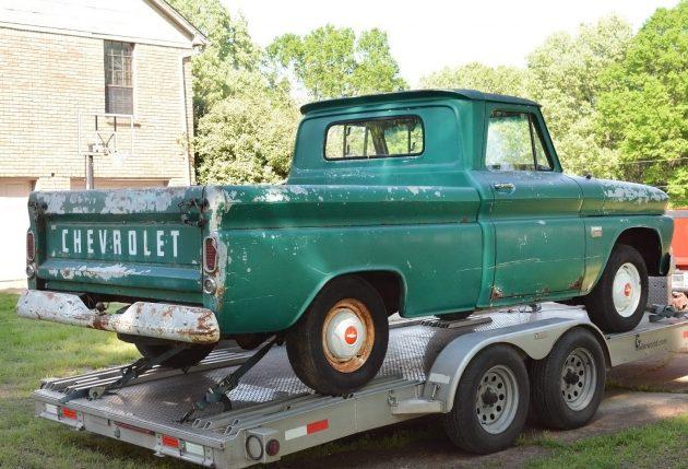 042416 Barn Finds - 1966 Chevrolet C10 Fleetside - 2