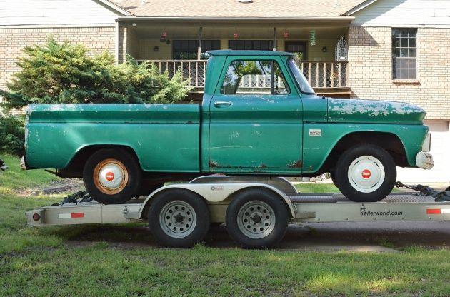 042416 Barn Finds - 1966 Chevrolet C10 Fleetside - 3
