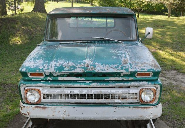042416 Barn Finds - 1966 Chevrolet C10 Fleetside - 4