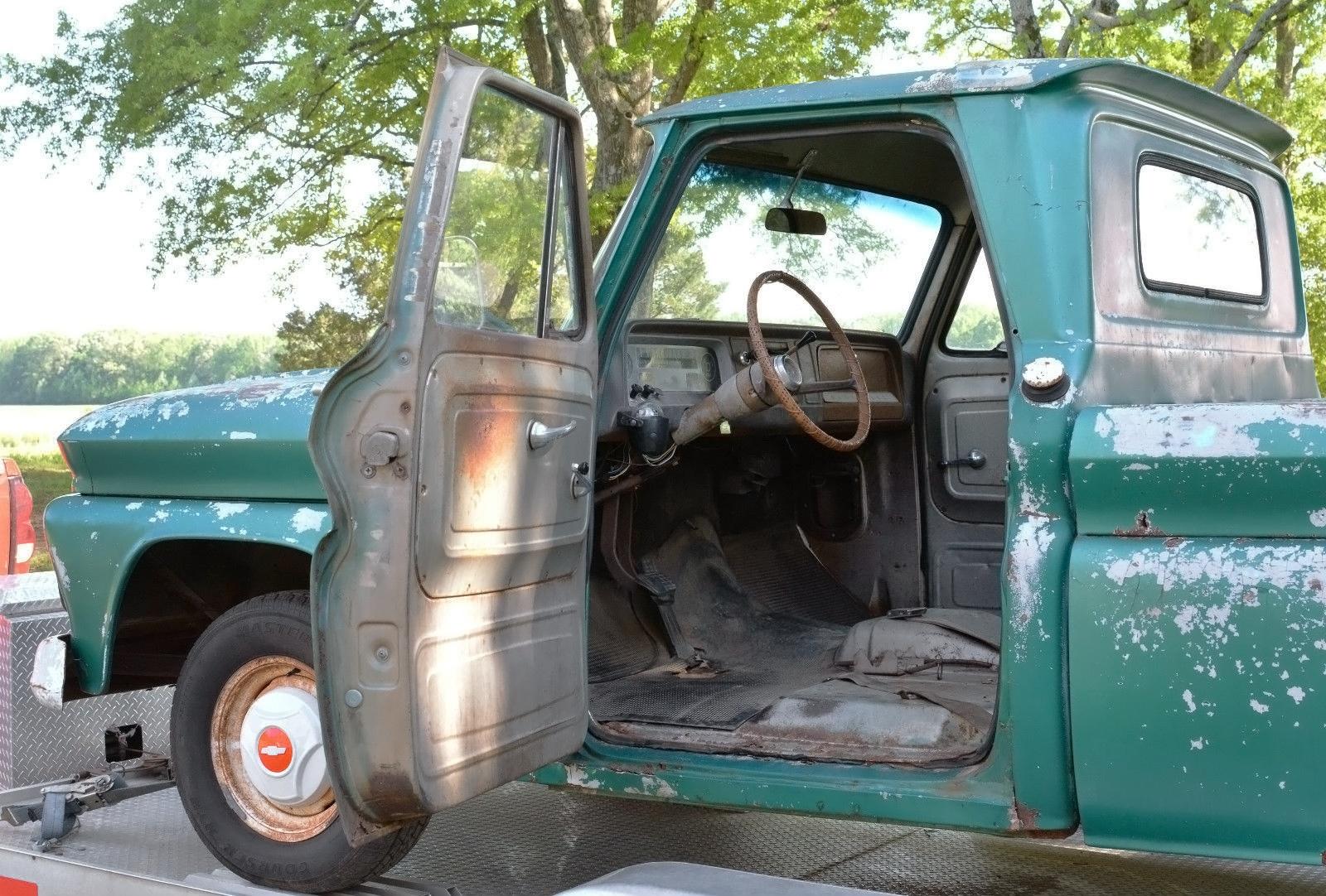 Short And Sweet 1966 Chevrolet C10 Fleetside Truck 042416 Barn Finds 5