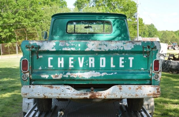 042416 Barn Finds - 1966 Chevrolet C10 Fleetside - 7
