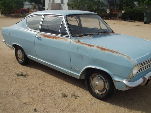 Kool Kiemencoupe: 1966 Opel Kadett B