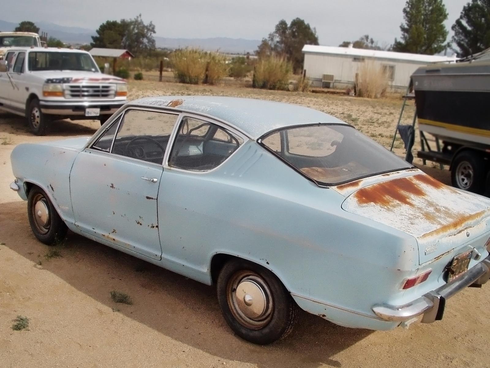 Kool Kiemencoupe 1966 Opel Kadett B