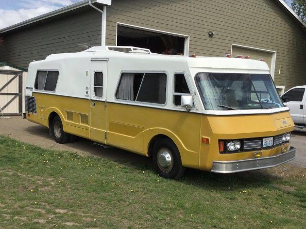042716 Barn Finds - 1974 FMC Motorhome - 1