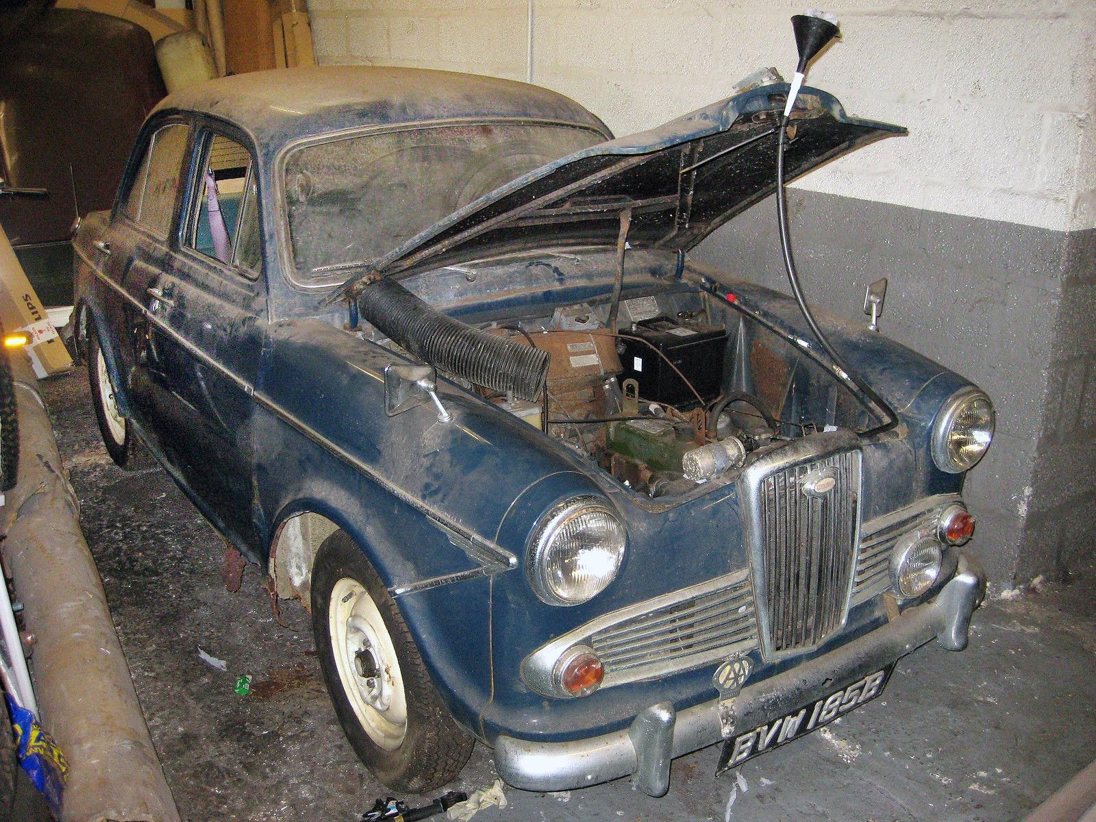 Waltzing Matilda 1964 Wolseley 1500