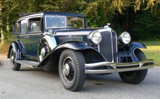 True Classic 1931 Chrysler Imperial Limousine