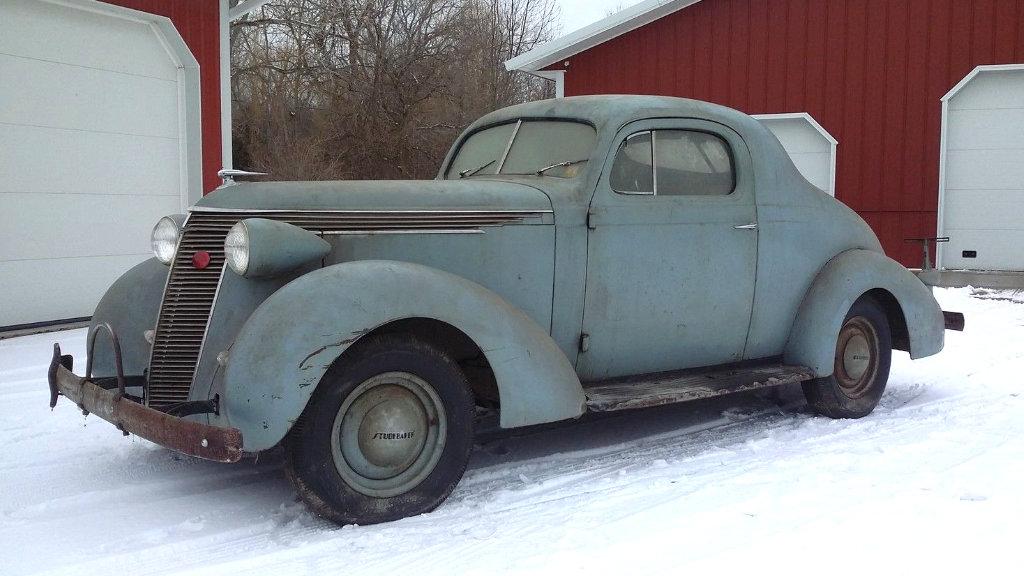 Survivor Coupe 1937 Studebaker Dictator